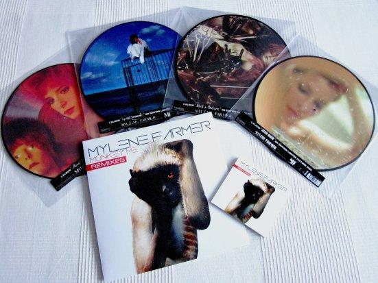 Mise à jour picture discs et Monkey Me