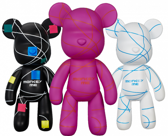 """Art Toys """"Monkey Me"""""""