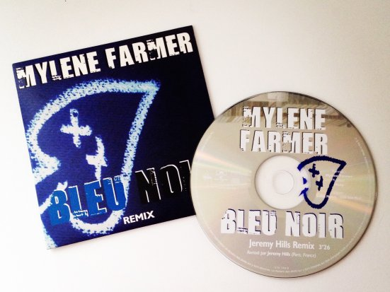 "CD promo ""Bleu noir"" Remix (Jeremy Hills Remix)"