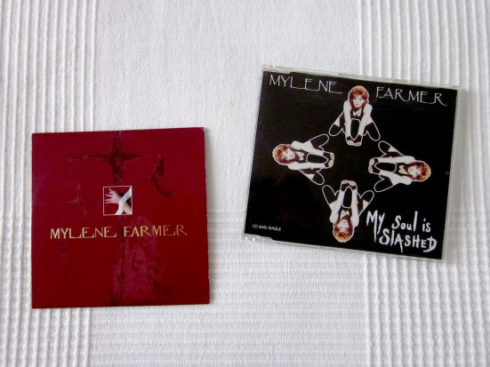 "CD promo ""Je te rends ton amour"" et CD maxi ""My soul is slashed"""