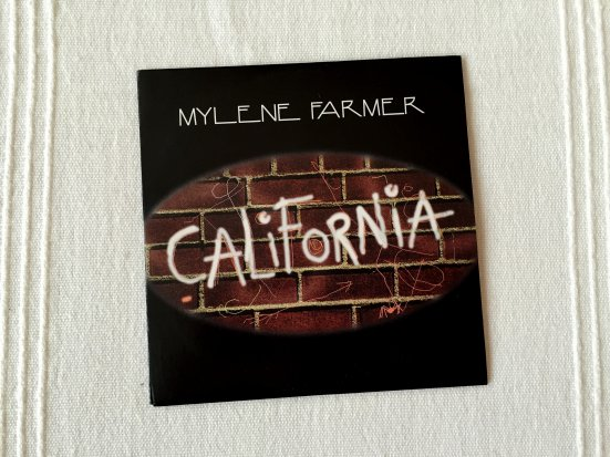 "CD promo monotitre ""California"""