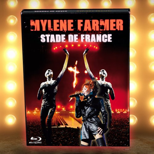 "Coffret Blu Ray ""Stade de France"""