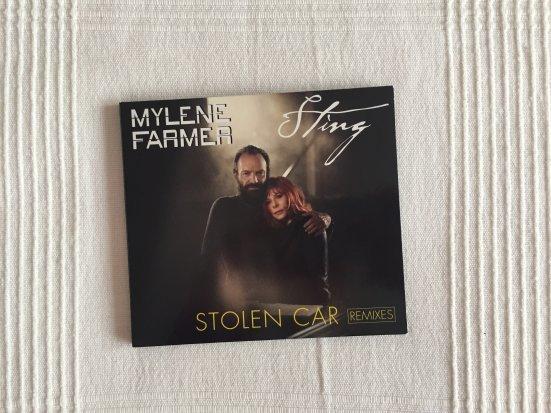 """Maxi CD """"Stolen Car"""""""