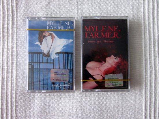 """Cassettes """"Innamoramento"""" et """"Avant que l'ombre"""" import Ukraine"""