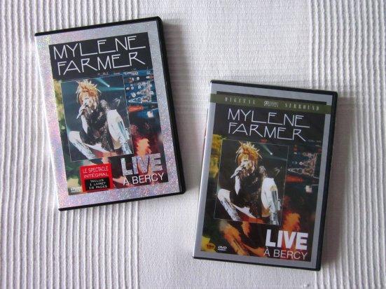 """DVD's """"Live à bercy"""" France et import Corée"""