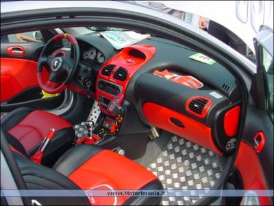 Interieur peugeot 206 tuning for Interieur tuning shop