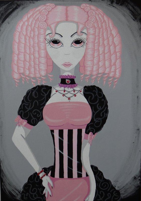 Lady Pink Gothique