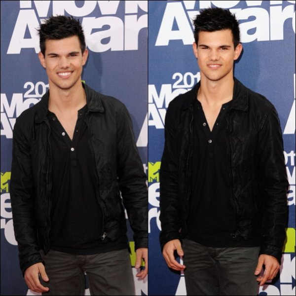 Taylor était présent aux MTV MOVIE AWARD 2011