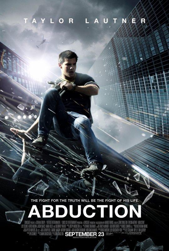 Nouvelle affiche du film ABDUCTION