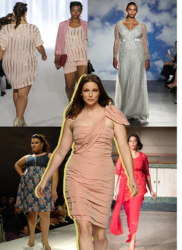 #5 - 17/09, Fashion Week, défilé Plus Size de Londres // Sujet: mode Plus Size.