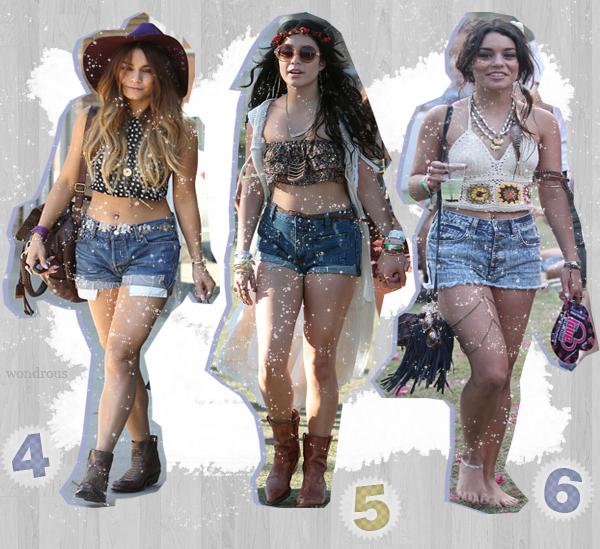 #7 - Vanessa Hudgens et son style.