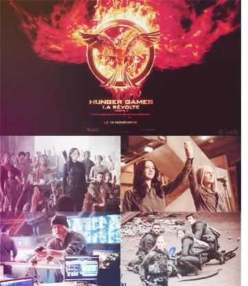 #9 - sortie du troisième Hunger Games, partie I // Thème: film.