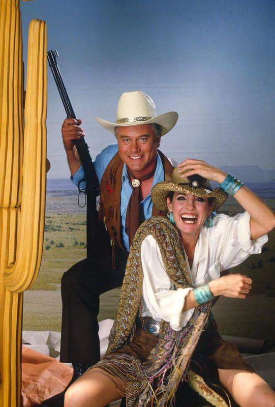 jr et Sue Ellen