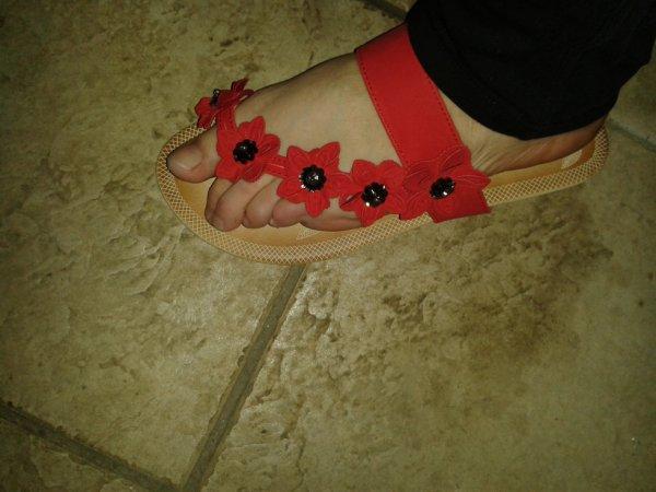 Mes nouvelles chaussures, beau.