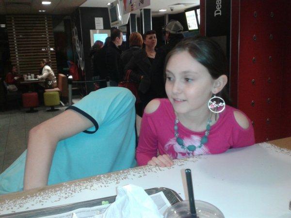Au mado pendant les vacances de Février Mars 2014 avec ma chérie Cynthia et Xavier derrière.