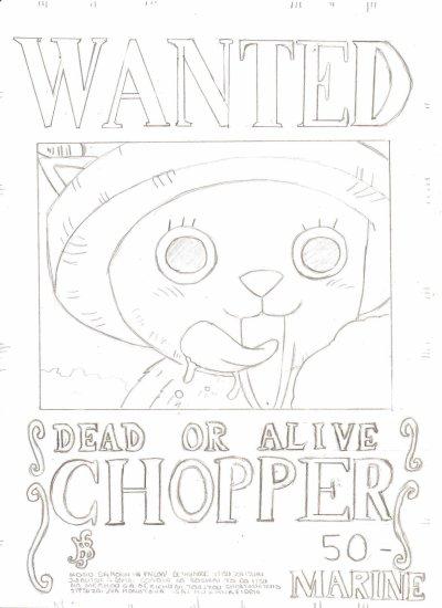 Dessin Chopper One Piece Mangas O