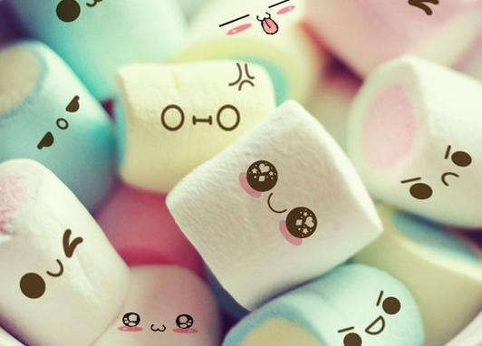 MOIIII AUSSI J4EN VEU miam miam des  marshmallow kawaii ^^