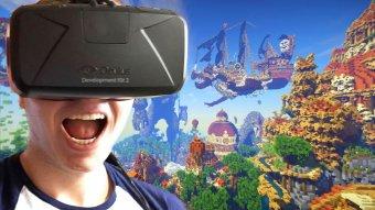 *    Minecraft passe aussi en réalité virtuelle    *