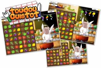 *    Toudou Cuistot : un jeu de cuisine en ligne avec un mignon lapin    *