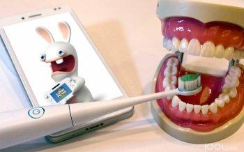 *    Ubisoft et Kolibree : un projet pour se brosser les dents    *