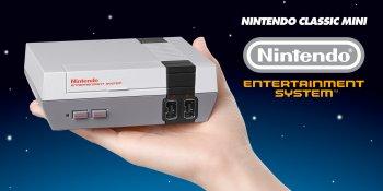 *    La Nintendo Classic Mini: NES sera disponible dans quelques temps    *