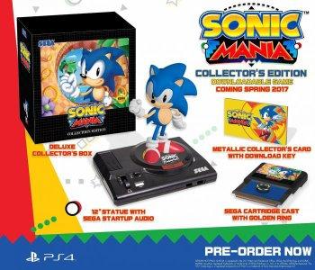 *    Sonic Mania aura droit à un sympathique collector    *