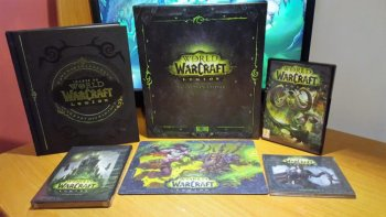 *    World of Warcraft: Legion se dote d'un sublime collector    *