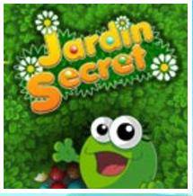 Jardin Secret : un jeu flash gratuit avec une grenouille