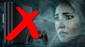 Until Dawn : pas de mise à jour pour le spin-off sur PlayStation 4 Pro