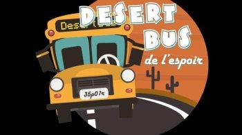 Le Desert Bus de l'Espoir : un nouveau record pour les associations