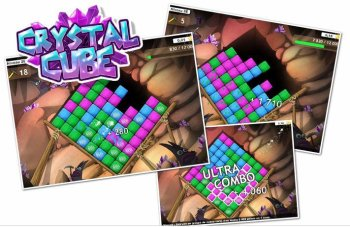 Crystal Cube : aidez les Babuts à trouver des diamants