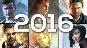 Jeux vidéo : mes coups de c½ur 2016