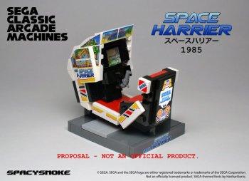 Des bornes d'arcade SEGA en LEGO – un nouveau projet !