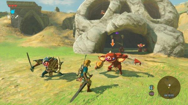 The Legend of Zelda: Breath of the Wild – les différentes techniques de combat