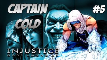 Captain Cold sera un redoutable personnage dans Injustice 2