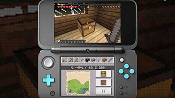 Minecraft débarque sur une autre console de Nintendo