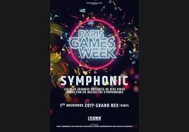 La PGW annonce le Paris Games Week Symphonic
