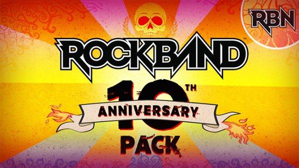 Rock Band fête ses 10 ans et offre des cadeaux !