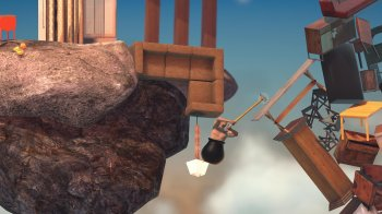 Bennett Foddy revient avec un nouveau jeu : Getting Over It with