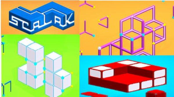 Jeu de puzzle : Scalak  est à découvrir sur Android et iOS