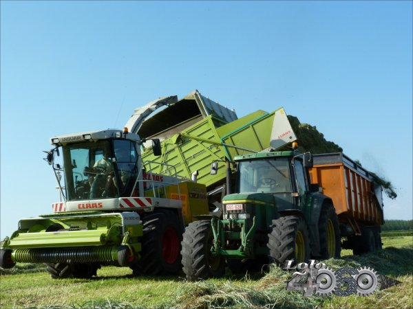Claas Jaguar 900 Green eyes Field Shuttle Csl