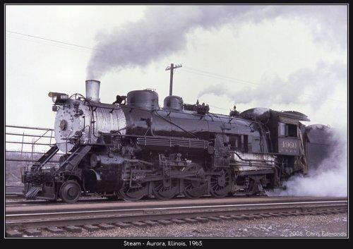 Aujourd'hui, j'ai pris le train à vapeur