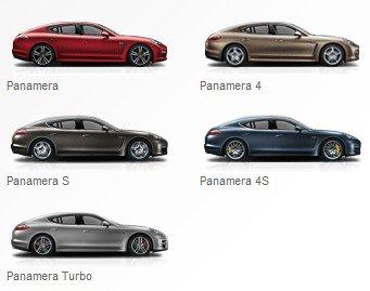 Porsche Panamera :