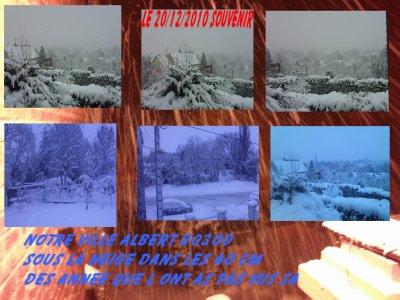 notre ville sous la neige