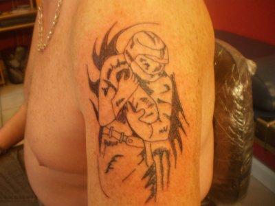 tattoo  epaule