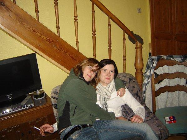 Cateline et moi