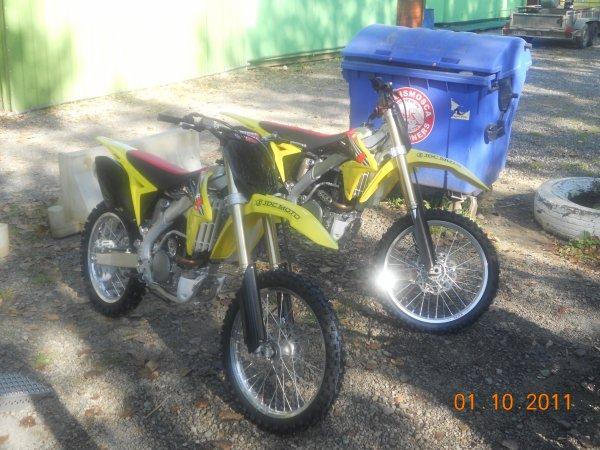 Nouvelles motos de Mickael et Anthony