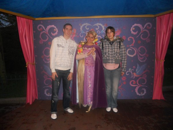 Jonathan, Raiponce et moi