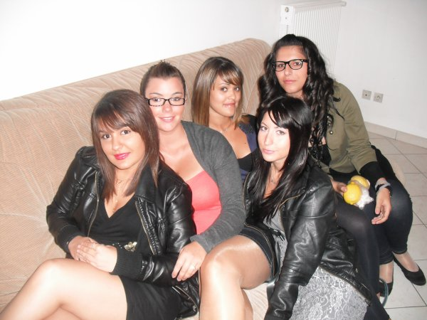 Elles... <3 Coupiine Céliine, JeSs, ChlOo & Nanou <3
