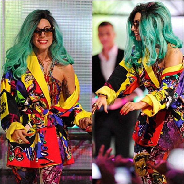Lady Gaga aux MuchMusic Video Awards 2011